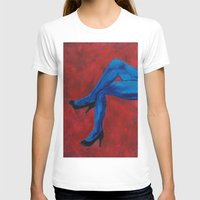 legs T-shirts featuring Legs by Sian Blackman