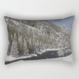 Carol Highsmith Snow Covered Conifers Rectangular Pillow