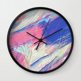 Wednesday Feelings Wall Clock