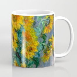 Bouquet of Sunflowers - Claude Monet Coffee Mug
