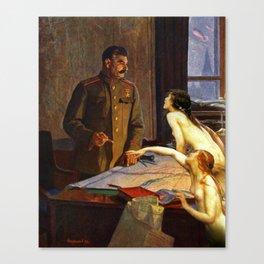 The Last Temptation of Stalin Canvas Print