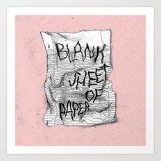 RAMONA FALLS Art Print