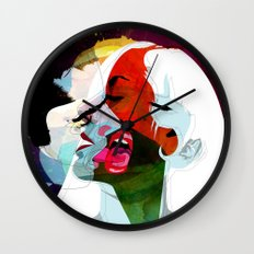 Kiss Wall Clock