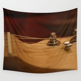 Electric Guitar Tuning Pegs Wall Tapestry