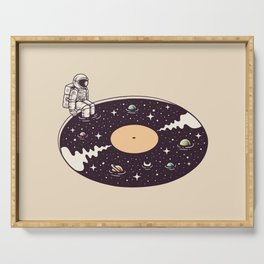 Cosmic Sound Serving Tray