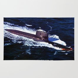 USS GEORGE WASHINGTON (SSBN-598) Rug