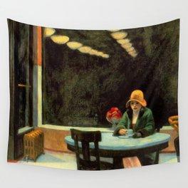 AUTOMAT - EDWARD HOPPER Wall Tapestry