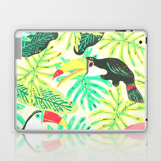 Tucanos Laptop & iPad Skin