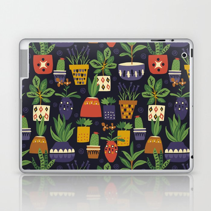 Potted Plants Laptop & iPad Skin