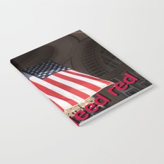 We all bleed red Notebook