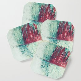 abstract painting Coaster