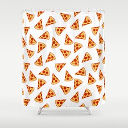 PIZZA FAST FOOD PATTERN Shower Curtain