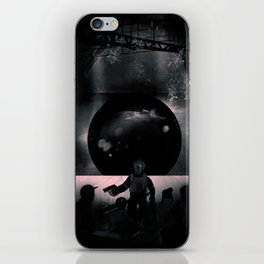 RIOT - Heavy Metal Thunder Artwork iPhone Skin