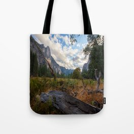 In the Valley. Tote Bag