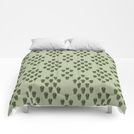 Emerald Thicket Comforters