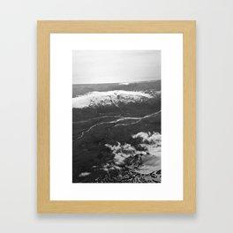 Glacier Buddies Framed Art Print