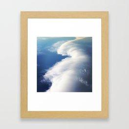 Cloud Surf Framed Art Print