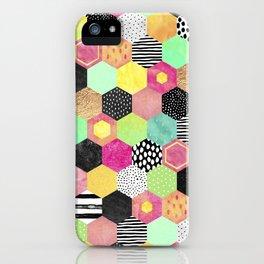 Color Hive iPhone Case
