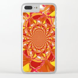 Bright Smudge TR Kaleidoscope Clear iPhone Case