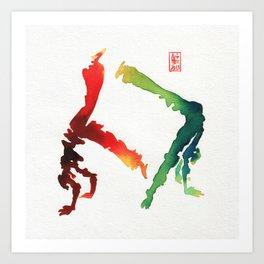 Capoeira 260 Art Print