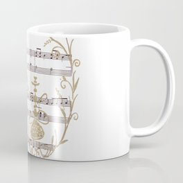 """Who Are You?  (blue caterpillar from Lewis Carroll's """"Alice's Adventures in Wonderland"""") Coffee Mug"""
