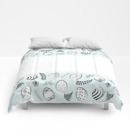easter background Comforters
