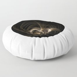Abstract 17 001e Floor Pillow