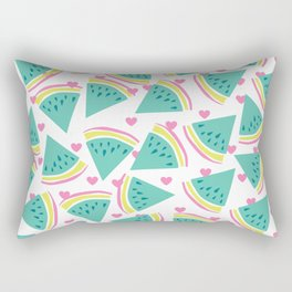 Watermelon love pattern Rectangular Pillow