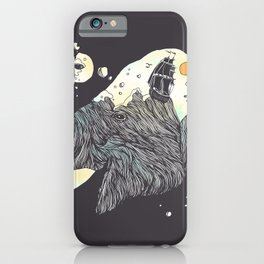 The Grey Gust and the Savage Sea iPhone Case