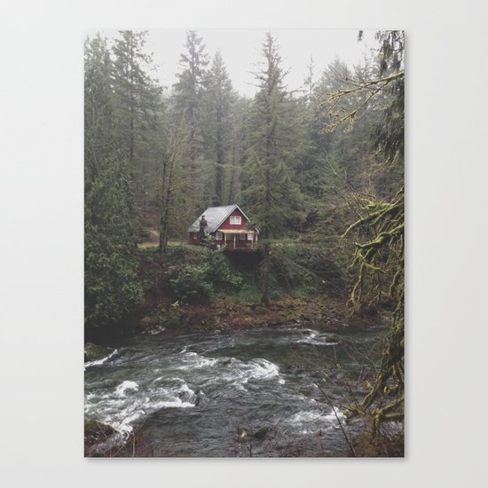 River House Canvas Print
