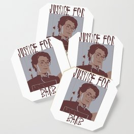 Justice for Barb Coaster