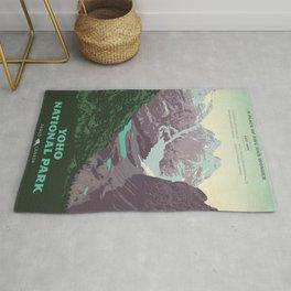 Yoho National Park Poster Rug