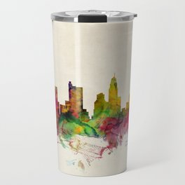 Columbus Skyline Travel Mug