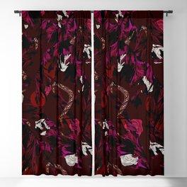 Leaves Snake Rosen Garden Blackout Curtain
