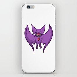 superhero bat iPhone Skin
