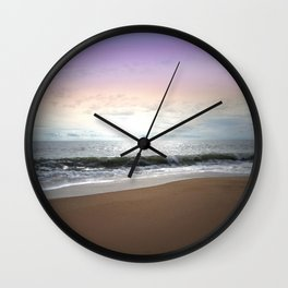 Light Pastel Seascape Wall Clock
