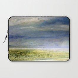 Sea Shore Watercolor Ocean Landscape Nature Art Laptop Sleeve