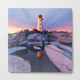 Absorb the Sunset Metal Print