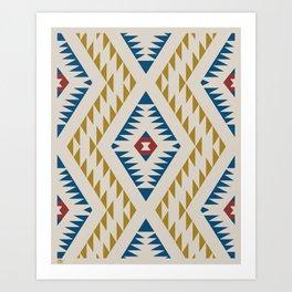 Native-Inspired Pattern Art Print
