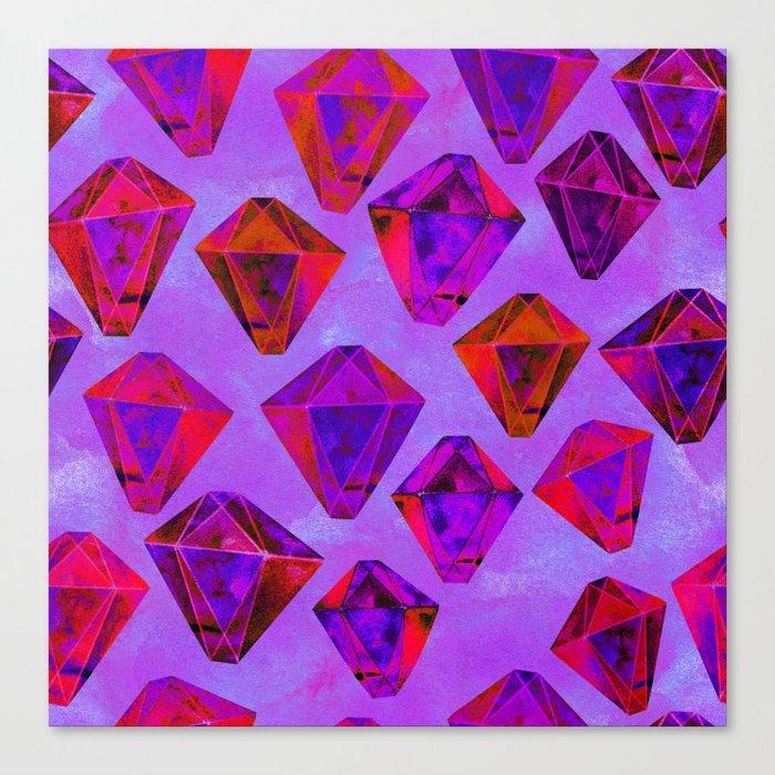 Fairy gems Canvas Print