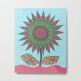 Fabby Flower-Eden colors Metal Print