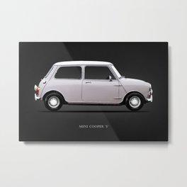 The Mini Cooper Metal Print