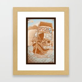 Sailing ship Framed Art Print