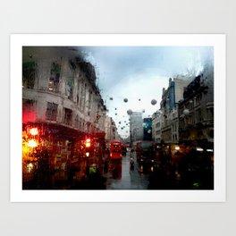 Cold London Morning Art Print
