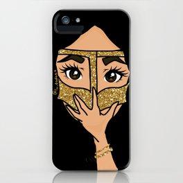 Glitter Burga iPhone Case