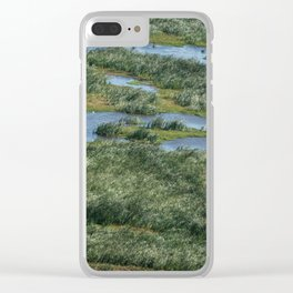 Green beautiful land Clear iPhone Case