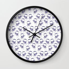 Border Collie Collective Wall Clock