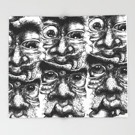 Graphicface Throw Blanket