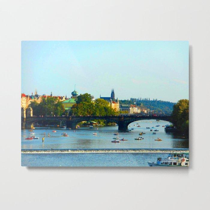 Vltava | Prague Metal Print