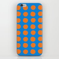 polka iPhone & iPod Skins featuring Polka  by Ruth Shaffer Art and Designs